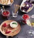 Produktové foto Sada nerezových lžiček Sambonet Oriental Party, Antique Champagne, 2 ks