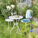 Produktové foto CENTURY Set zahradního nábytku pro 2 osoby - bílá