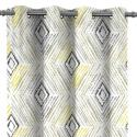 Produktové foto AmeliaHome Závěs Blackout Geometric šedá, 140 x 245 cm