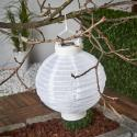 Produktové foto Best Season LED solární lampion Jerrit 20 cm, bílý