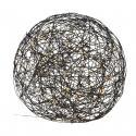 Produktové foto Best Season LED 3D designová koule Galax, černá, Ø 50 cm