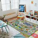 Produktové foto Domarex Dětský kobereček Little Hippo Letiště, 75 x 112 cm