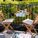 Produktové foto LODGE Skládací židle - přírodní
