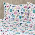 Produktové foto 4Home Krepové povlečení Flowers, 140 x 220 cm, 70 x 90 cm
