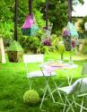 Produktové foto Rosenthal Springtime Flowers velikonoční dekorace domeček modrý
