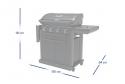 Produktové foto Campingaz CAMPINGAZ Plynový gril Series 4 Onyx S  (DOPRAVA ZDARMA)