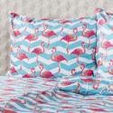 Produktové foto 4Home Bavlněné povlečení Flamingo, 160 x 200 cm, 70 x 80 cm, 160 x 200 cm, 70 x 80 cm
