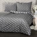 Produktové foto 4Home Bavlněné povlečení Stars šedá, 140 x 200 cm, 70 x 90 cm