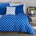 Produktové foto 4Home Bavlněné povlečení Modrý puntík, 160 x 200 cm, 70 x 80 cm