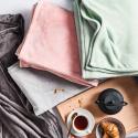 Produktové foto LAZY DAYS Flísová deka 150 x 200 cm - sv. růžová