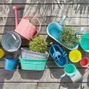 Produktové foto ZINC Konvička na zalévání 1 l - modrá