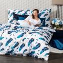 Produktové foto 4Home Bavlněné povlečení Feathers, 160 x 200 cm, 70 x 80 cm