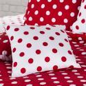 Produktové foto 4Home Bavlněné povlečení Červený puntík, 140 x 220 cm, 70 x 90 cm