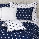 Produktové foto 4Home Bavlněné povlečení Stars Navy blue, 140 x 200 cm, 70 x 90 cm