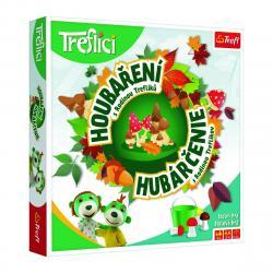 Trefl Dětská hra Houbaření s rodinou Treflíků