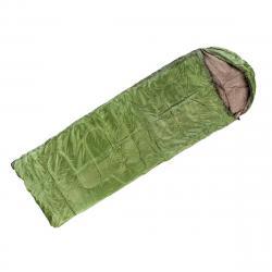 Nawalla Spací pytel s podhlavníkem zelená, 5 °C