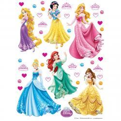 Samolepicí dekorace Princezny, 42,5 x 65 cm