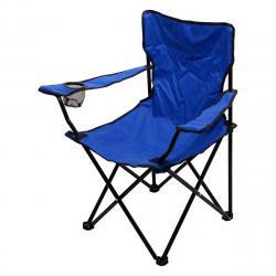 Cattara skládací židle BARI modrá
