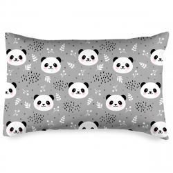 4home Povlak na polštářek Nordic Panda krep, 50 x 70 cm