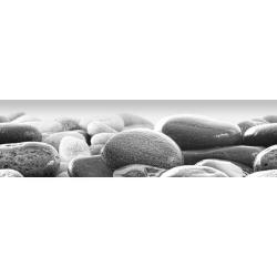 Samolepicí bordura Beach stones, 500 x 14 cm