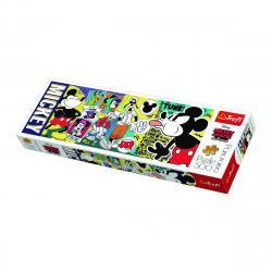 TREFL Panoramatické Legendární Myšák Mickey 500 dílků