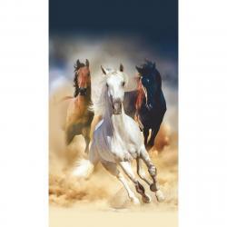Vertikální fototapeta Horses, 90 x 202 cm