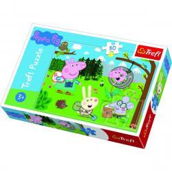 Trefl Puzzle Prasátko Peppa v přírodě 30 dílků