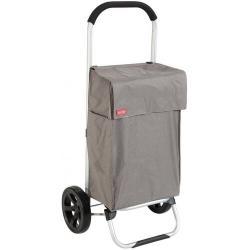 VIENA šedá nákupní vozík