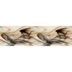 Samolepicí bordura Smoke, 500 x 14 cm