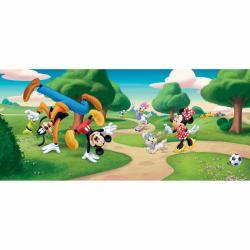 Dětská fototapeta Mickey Mouse a přátelé, 202 x 90 cm