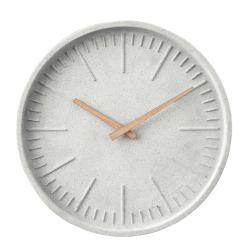 WALL COUTURE Nástěnné hodiny betonový vzhled 30 cm