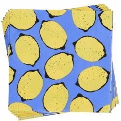 APRÈS Papírové ubrousky citróny 20 ks