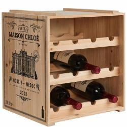 VINOTHEK Regál na víno - béžová