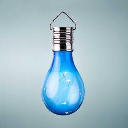 SUNLIGHT Solární žárovka k zavěšení - modrá