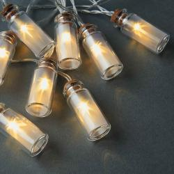 STARS IN JARS LED Světelný řetěz se zavařovacími sklenicemi hvězdy