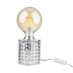 STILO Stolní lampa skleněná 11 cm