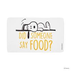 PEANUTS Snídaňové prkénko Snoopy a jídlo