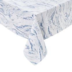 BLUE MARBLE Ubrus 160 x 160 cm