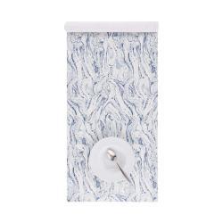 BLUE MARBLE Běhoun na stůl 160 x 50 cm