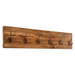 Věšák na kabáty z teakového dřeva HSM collection Railwood