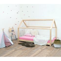 Dětská postel bez bočnic ze smrkového dřeva Benlemi Tery, 120 x 200 cm