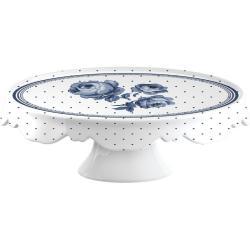 Porcelánový talíř na dorty Creative Tops Vintage Indigo, ⌀25 cm