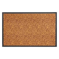 Oranžová rohožka Zala Living Smart, 75x45cm