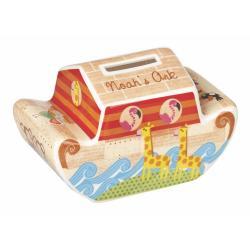 Kasička z kostního porcelánu Churchill Noah's Ark