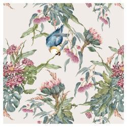 Tapeta na zeď Dekornik Tropical Parrot, 50x280cm