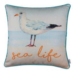 Povlak na polštář Apolena Seagull Sea Life, 43x43cm