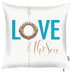 Povlak na polštář Apolena Love The Sea, 43x43cm