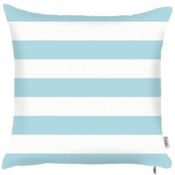 Modrý povlak na polštář Apolena Stripes, 43x43cm