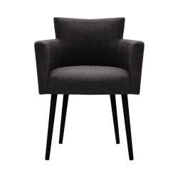Antracitová židle Corinne Cobson Billie