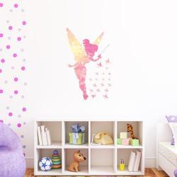 Sada nástěnných samolepek Ambiance Fairy and Shiny Stars